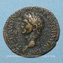 Monnaies Claude (41-54). As. Rome, 41-42. R/: la Liberté