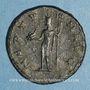 Monnaies Claude II le Gothique (268-270). Antoninien. Antioche, 268-269. R/: Neptune