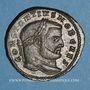 Monnaies Constance I Chlore, césar (293-305). Follis. Rome, 3e officine, 300-303. R/: la Monnaie