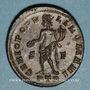 Monnaies Constance I Chore(305-306). Follis. Trèves, 1ère officine, 305-306. R/: Génie tourelé