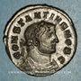 Monnaies Constance I Chore, césar (293-305). Follis. Londres, vers 303. R/: Génie