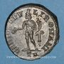 Monnaies Constance I Chore, césar (293-305). Follis. Rome, 3e officine, 299-300. R/: Génie