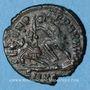 Monnaies Constance II (337-361). Centénionalis. Cyzique, 1ère officine, 351-354. R/: guerrier tuant un ennemi