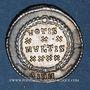 Monnaies Constance II (337-361). Silique réduite. Sirmium, 355-361. R/: VOTIS / XXX / MVLTIS / XXXX