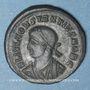 Monnaies Constance II, césar (324-337). Centénionalis. Héraclée, 2e officine, 327-329. R/: porte de camp