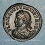 Monnaies Constance II, césar (324-337). Centenionalis. Rome, 4e officine. 326. R/: porte de camp