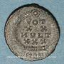 Monnaies Constant (337-350). Centenionalis.Antioche, 342-346. R/: VOT / XX / MVLT / XXX