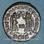 Monnaies Constant (337-350). Centenionalis. Siscia, 1ère officine, 345-346. R/: deux Victoires