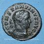 Monnaies Constantin I (307-337). 1/4 follis. Trèves, 1ère officine, 310-311. R/: le Soleil. Inédit (?)