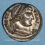 Monnaies Constantin I (307-337). Centenionalis. Alexandrie, 2e officine, 325-326. R/: porte de camp