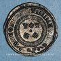 Monnaies Constantin I (307-337). Centenionalis. Aquilée, 1ère off. 321. R/: VOT / XX  dans une couronne