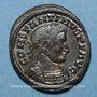 Monnaies Constantin I (307-337). Centenionalis. Lyon, 1ère officine, 321. R/: autel