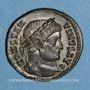 Monnaies Constantin I (307-337). Centenionalis. Lyon, 1ère officine, 323-324. R/: Victoire