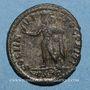 Monnaies Constantin I (307-337). Centenionalis. Ostie, 1ère officine. 312-313. R/: le Soleil