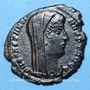 Monnaies Constantin I (307-337). Centenionalis posthume. Constantinople, 4e officine, 342-348. R/: Constantin