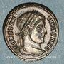 Monnaies Constantin I (307-337). Centenionalis. Ticinum, 2e officine, 320-321. R/: couronne