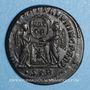 Monnaies Constantin I (307-337). Centenionalis. Trèves, 2e officine, 318-319. R/: deux Victoires debout