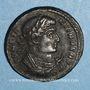 Monnaies Constantin I (307-337). Centenionalis. Trèves, 2e officine, 322-323. R/: globe