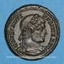 Monnaies Constantin I (307-337). Centenionalis. Trèves, 2e officine. 332-333. R/: deux soldats