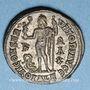Monnaies Constantin I (307-337). Follis. Alexandrie, 1ère officine, 315-316. R/: Jupiter debout à gauche