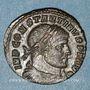 Monnaies Constantin I (307-337). Follis. Arles, 1ère officine, 313-314. R/: le Solei