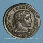 Monnaies Constantin I (307-337). Follis. Londres, 1ère officine, 307-310. R/: Génie