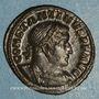 Monnaies Constantin I (307-337). Follis. Londres, 1ère officine. 310-312. R/: le Soleil