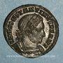 Monnaies Constantin I (307-337). Follis. Londres, 1ère officine. 312-313. R/: le Soleil