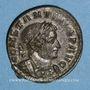 Monnaies Constantin I (307-337). Follis. Londres, 1ère officine, 313-314. R/: le Soleil