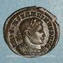 Monnaies Constantin I (307-337). Follis. Londres, 1ère officine. 313-314. R/: le Soleil