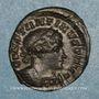 Monnaies Constantin I (307-337). Follis. Londres. 1ère officine, 318. R/: Génie