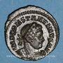 Monnaies Constantin I (307-337). Follis. Londres, 314-315. R/: le Soleil