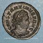 Monnaies Constantin I (307-337). Follis. Londres, 316. R/: le Soleil