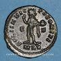 Monnaies Constantin I (307-337). Follis. Londres, 317. R/: le Soleil