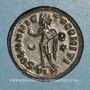 Monnaies Constantin I (307-337). Follis. Londres, 318. R/: le Soleil