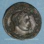 Monnaies Constantin I (307-337). Follis. Lyon, 1ère officine, 308-309. R/: Constantin
