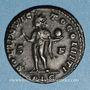 Monnaies Constantin I (307-337). Follis. Lyon, 1ère officine, 312. R/: le Soleil radié