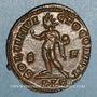 Monnaies Constantin I (307-337). Follis. Lyon, 1ère officine. 312. R/: le Soleil