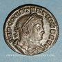 Monnaies Constantin I (307-337). Follis. Lyon, 1ère officine, 313-314. R/: le Soleil