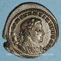 Monnaies Constantin I (307-337). Follis. Lyon, 1ère officine. 314-315. R/: le Soleil