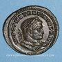 Monnaies Constantin I (307-337). Follis. Lyon, 1ère officine, 315. R/: le Soleil