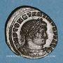 Monnaies Constantin I (307-337). Follis. Lyon, 1ère officine. 315. R/: le Soleil