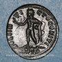 Monnaies Constantin I (307-337). Follis. Ostie, 1ere officine, 312-313. R/: le Soleil
