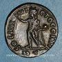 Monnaies Constantin I (307-337). Follis. Rome, 3e officine. 316-317. R/: le Soleil