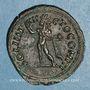 Monnaies Constantin I (307-337). Follis. Rome, 4e officine. 316-317. R/: le Soleil