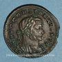 Monnaies Constantin I (307-337). Follis. Trèves, 1ère officine, 307-310. R/: autel