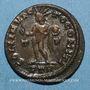 Monnaies Constantin I (307-337). Follis. Trèves, 1ère officine. 310-313. R/: le Soleil