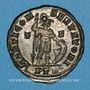 Monnaies Constantin I, (307-337). Follis, Trèves, 1ère officine. 310-313. R/: Mars