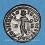 Monnaies Constantin I (307-337). Follis. Trèves, 1ère officine. 315-316. R/: le Soleil