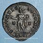 Monnaies Constantin I (307-337). Follis. Trèves, 2e officine. 317. R/: le Soleil